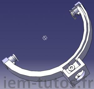 Modèle 3D de la pièce de casque JVC